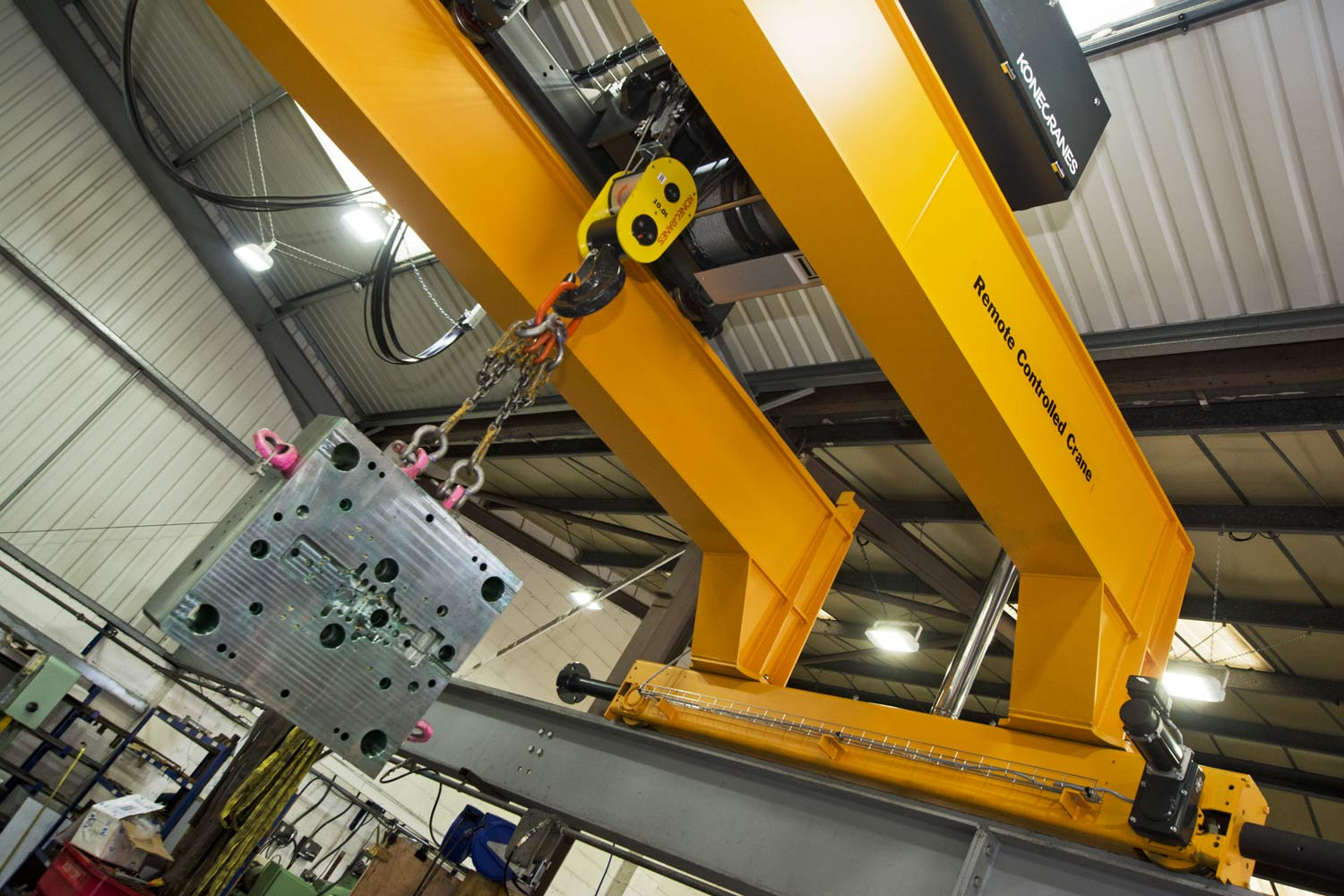 TWIN CRANE CARRIAGE FACILITY BY C&M MOULD TOOLS